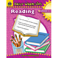 Daily Warm-Ups: Reading, Grade 5