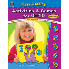 Math In Action: Activities & Games for 0-10