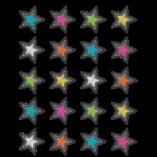 Chalkboard Brights Stars Stickers
