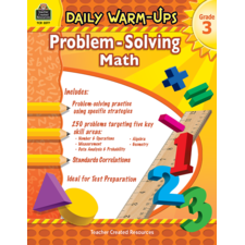 Daily Warm-Ups: Problem Solving Math Grade 3