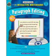 Interactive Learning: Paragraph Editing Grade 2