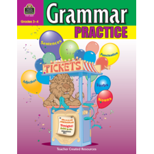 Grammar Practice for Grades 3-4