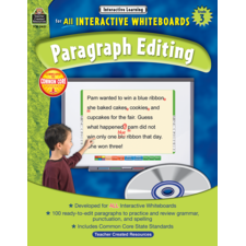 Interactive Learning: Paragraph Editing Grade 3