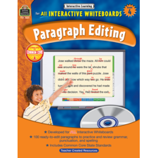 Interactive Learning: Paragraph Editing Grade 4