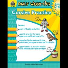 Daily Warm-Ups: Cursive Practice Grades 2-4