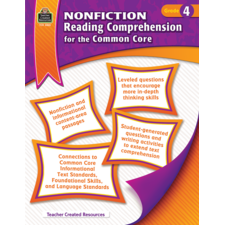 Nonfiction Reading Comprehension for the Common Core Grade 4