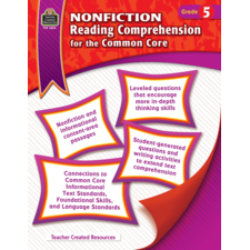 Nonfiction Reading Comprehension for the Common Core Grade 5