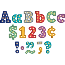 """Marquee Bold Block 3"""" Letters"""