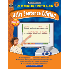 Interactive Learning: Daily Sentence Editing Grade 4
