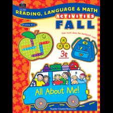 Reading, Language & Math Activities: Fall