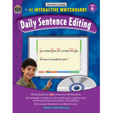 Interactive Learning: Daily Sentence Editing Grade 6