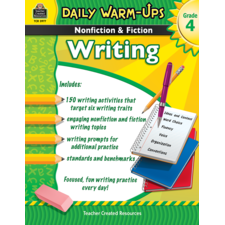 Daily Warm-Ups: Nonfiction & Fiction Writing Grade 4