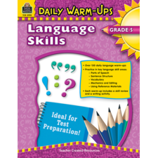 Daily Warm-Ups: Language Skills Grade 5
