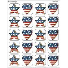 Patriotic Stickers from Susan Winget