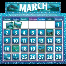 Classroom Calendar Bulletin Board from Wyland