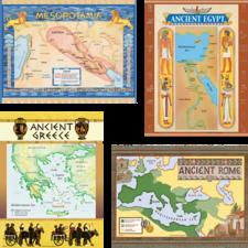 Ancient Civilizations Bulletin Board Display Set