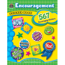 Encouragement Sticker Book