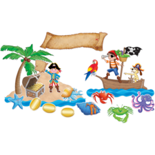 Island Adventure Bulletin Board Display Set