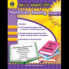Daily Warm-Ups: Nonfiction Reading Grade 6