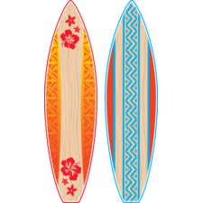 Giant Surfboards Bulletin Board Display Set