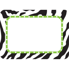 Zebra Name Tags/Labels