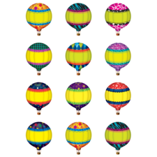 Hot Air Balloons Mini Accents