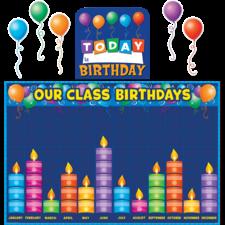 Birthday Graph Bulletin Board Display Set