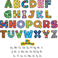 My Alphabet Mini Bulletin Board Display Set