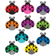 Colorful Ladybugs Accents