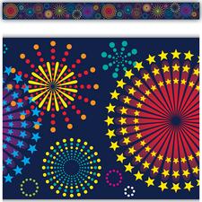 Fireworks Straight Border Trim