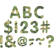 "Camouflage Classic 2"" Letters Uppercase Pack"