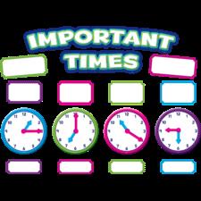 Important Times Mini Bulletin Board