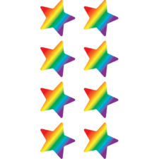 Rainbow Stars Mini Stickers