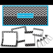 Black & White Sticky Notes