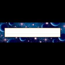 Stellar Space Flat Name Plates