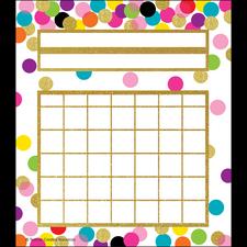Confetti Incentive Charts