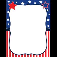 Patriotic Computer Paper
