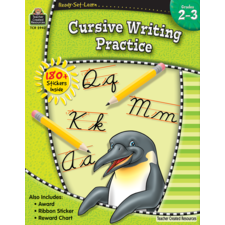 Ready-Set-Learn: Cursive Writing Practice Grade 2-3