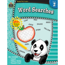Ready-Set-Learn: Word Searches Grade 2