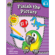 Ready-Set-Learn: Finish the Picture Grade K-1