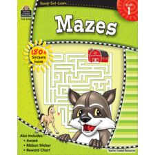 Ready-Set-Learn: Mazes Grade 1
