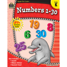 Ready-Set-Learn: Numbers 1-30 Grade K