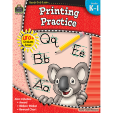 Ready-Set-Learn: Printing Practice Grade K-1