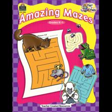 Start to Finish: Amazing Mazes Grade K-1