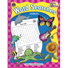 Start to Finish: Word Searches Grade 2-3