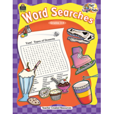 Start to Finish: Word Searches Grade 3-4