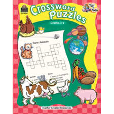 Start to Finish: Crossword Puzzles Grade 2-3