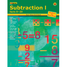 Best Value Drill Book Subtraction 1