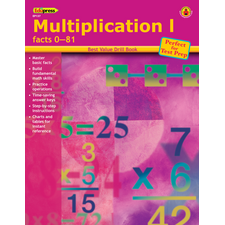 Best Value Drill Book Multiplication 1