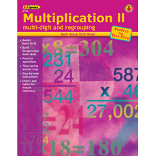 Best Value Drill Book Multiplication 2